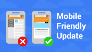 Mobile-Friendly Update