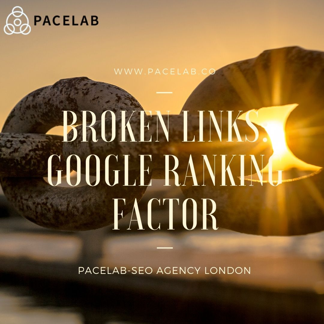 broken links pacelab - seo agency london