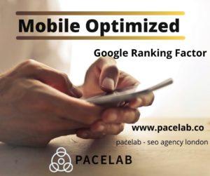 """mobile optimize"" pacelab - seo  agency london"
