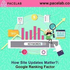 """Site Updates"" pacelab seo agency london"