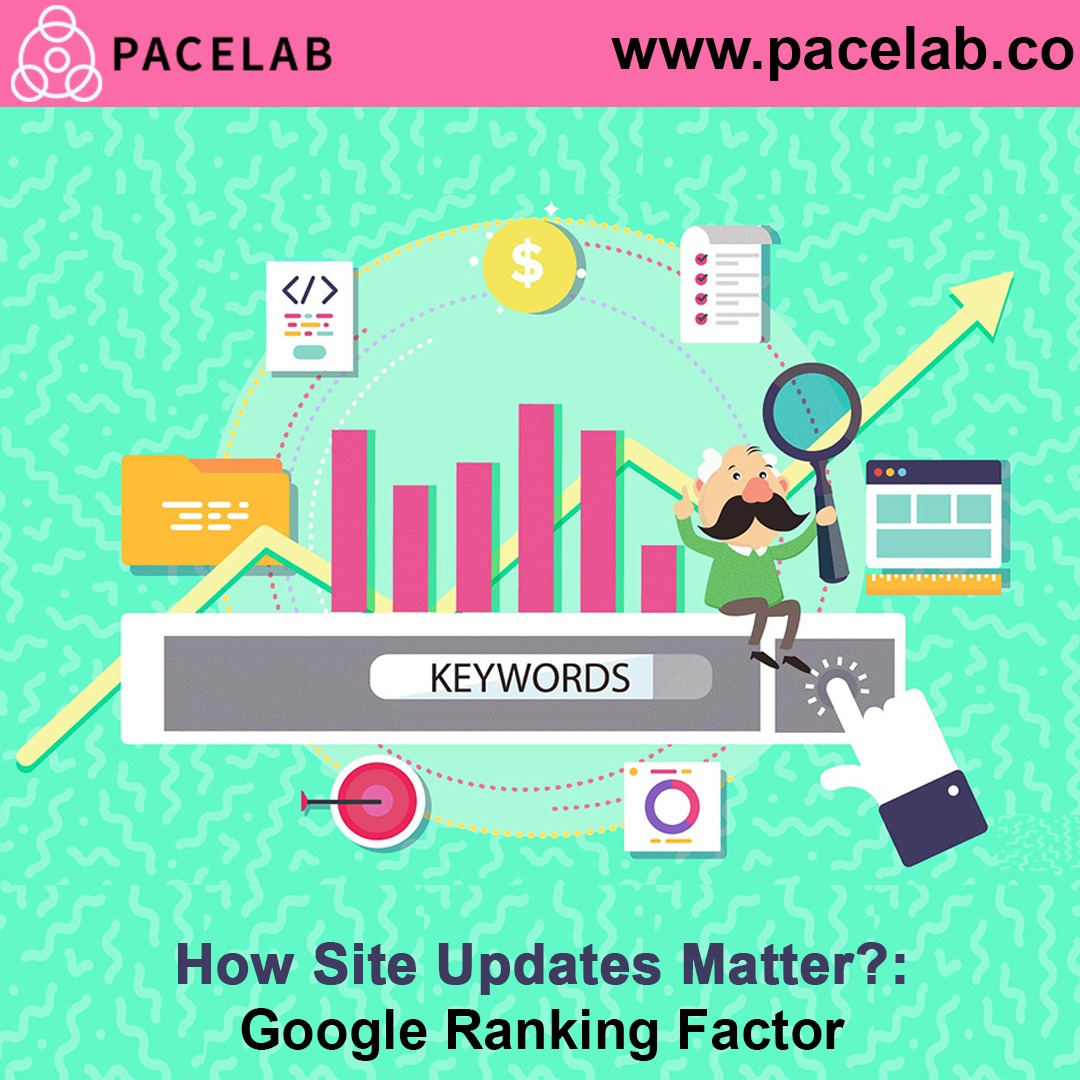 """Site Updates"" pacelab seo agency london"