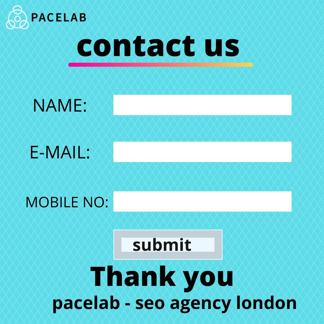 contact us pacelab - seo agency london