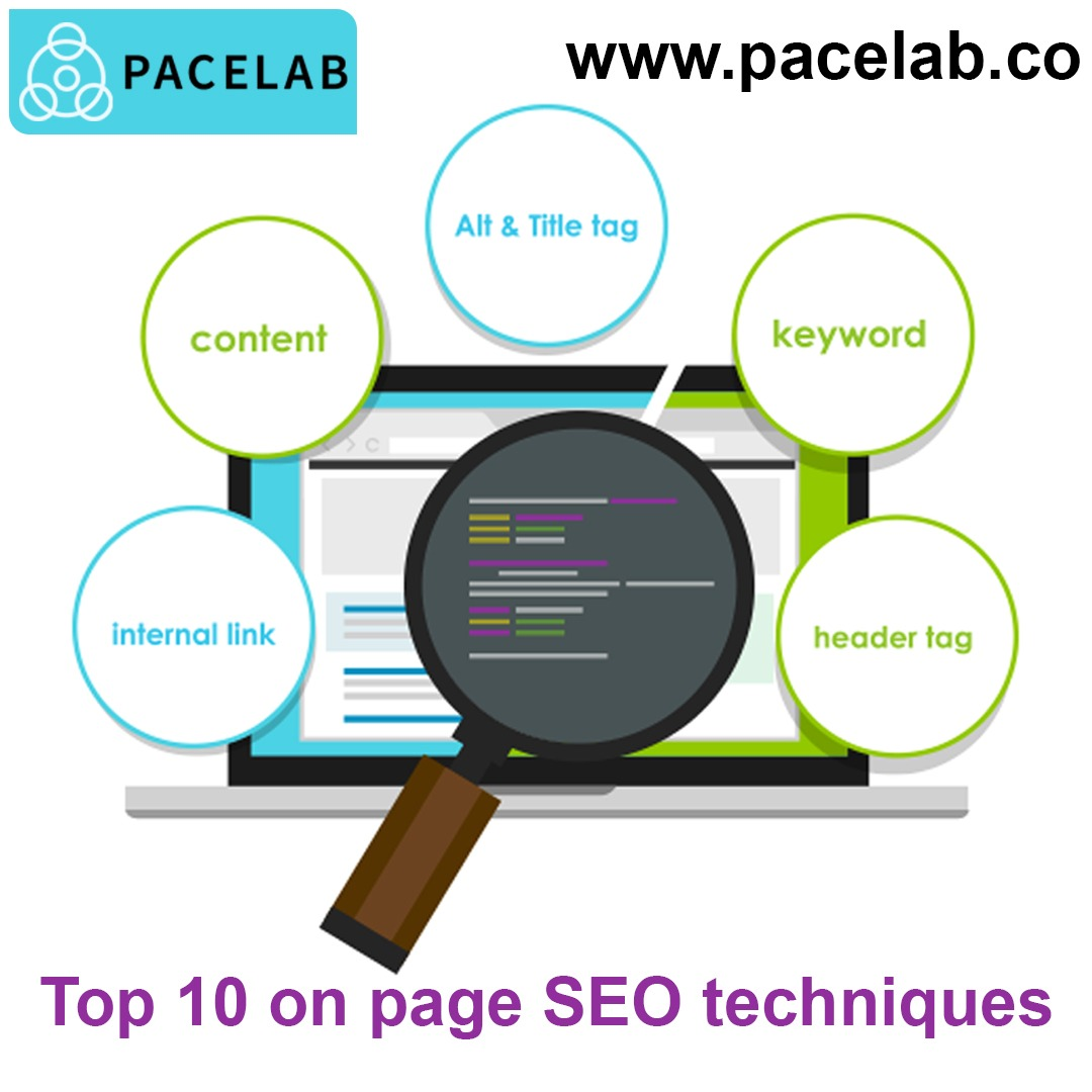 """ON PAGE""-Pacelab Seo agency london"