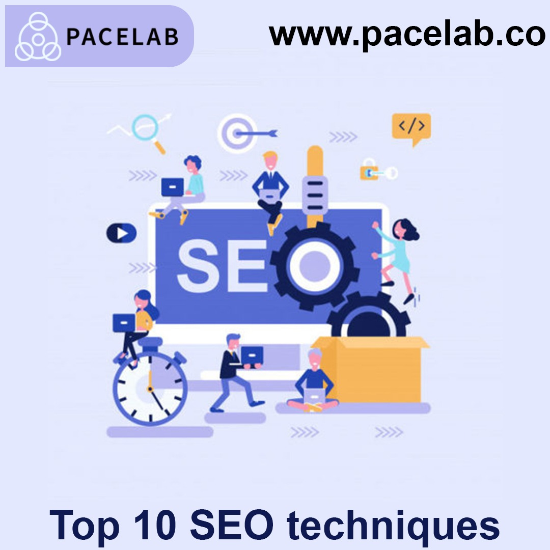 """SEO Techniques"" -Pacelab seo agency london"