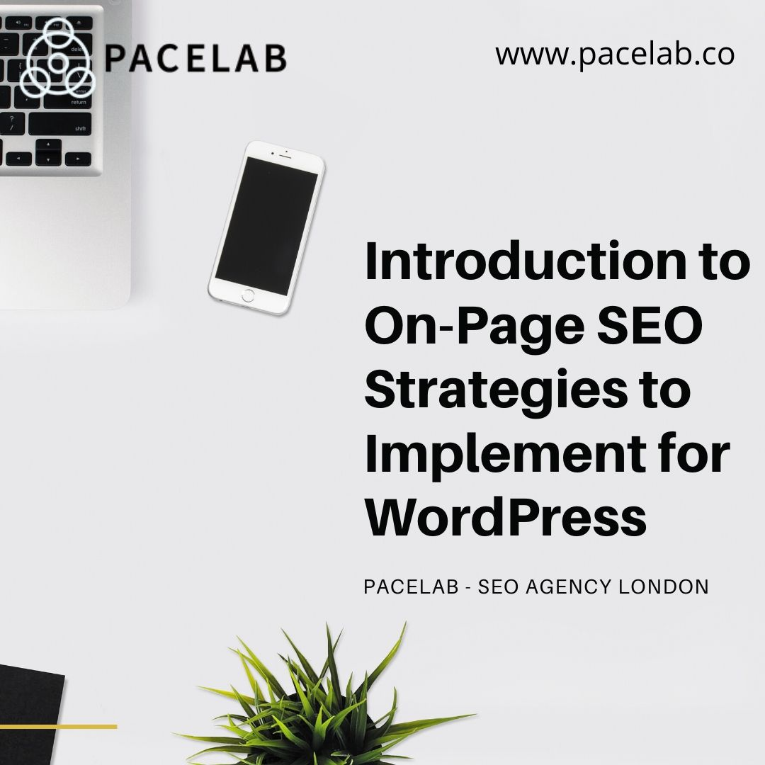 Introduction to On-Page SEO Strategies to Implement for WordPress- PACELAB- SEO AGENCY LONDON