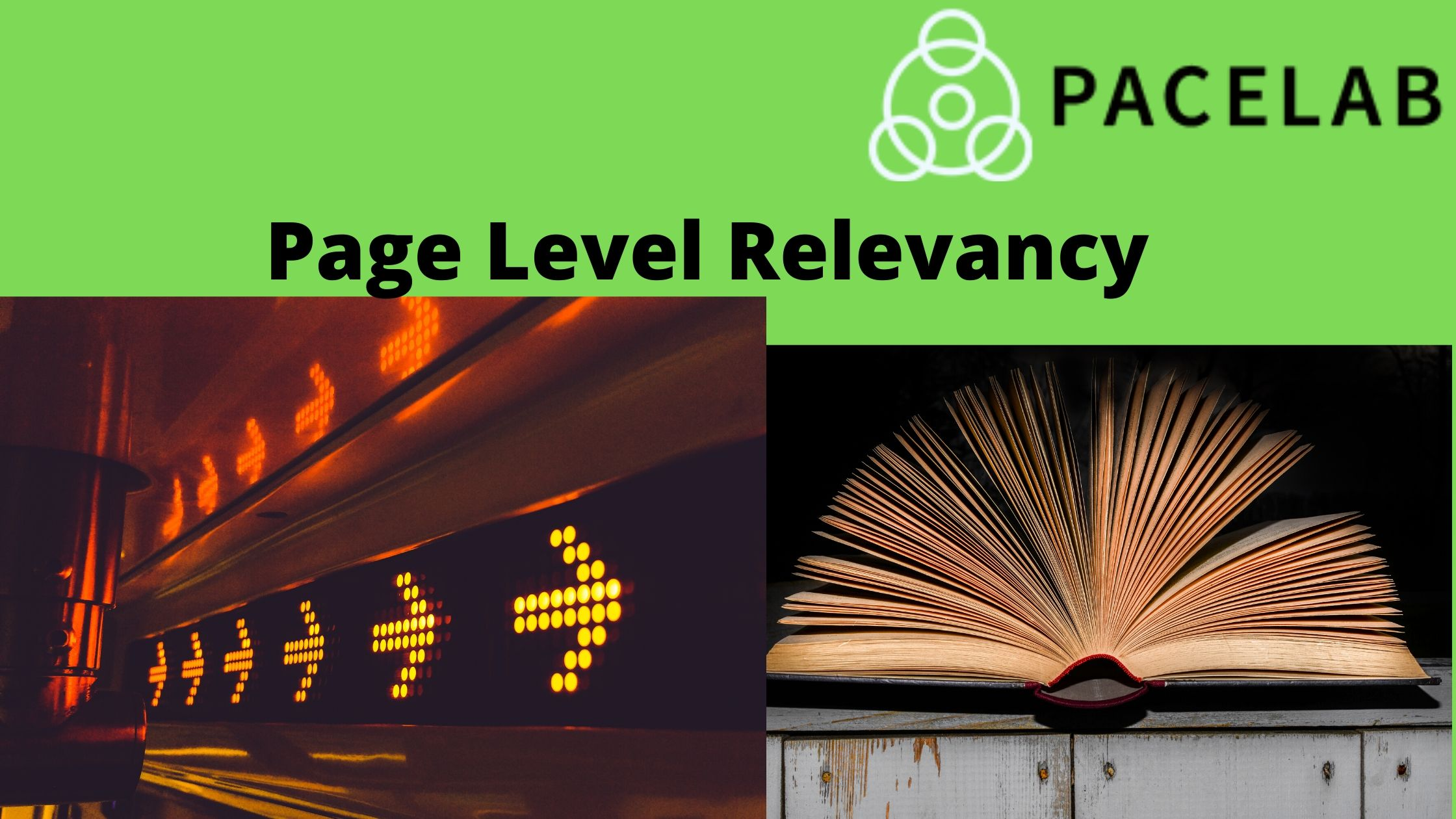 """Page Level Relevancy- Pacelab Seo Agency London"""